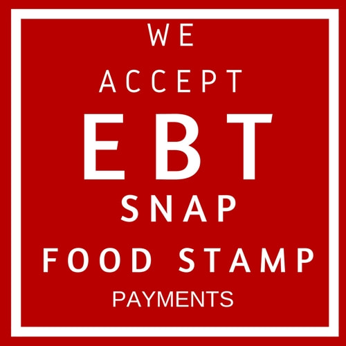 EBT ACCEPTED Food Stamp